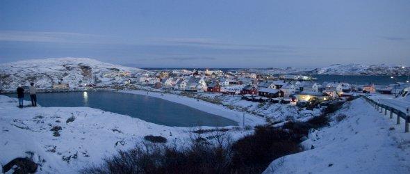 Arctic ocean in Bugøynes - Norway