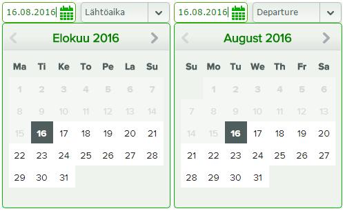 Finský vs Anglický kalendář