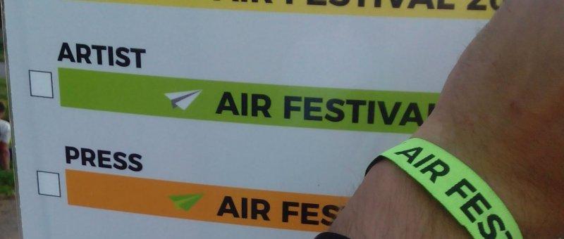 Tak prý Artist na AirFestivalu
