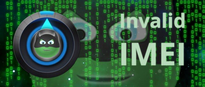 Android - oprava invalid IMEI s ToolHero