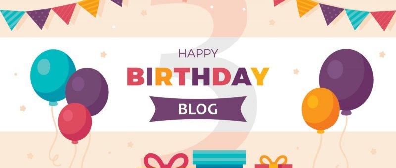 3. Narozeniny blogu