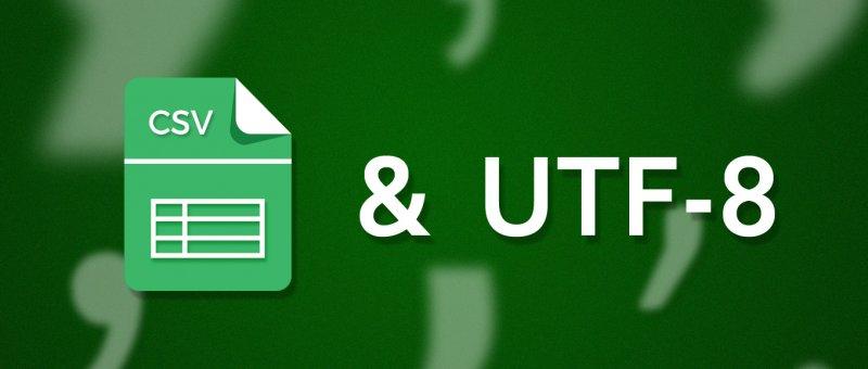 Generování CSV v Unicode