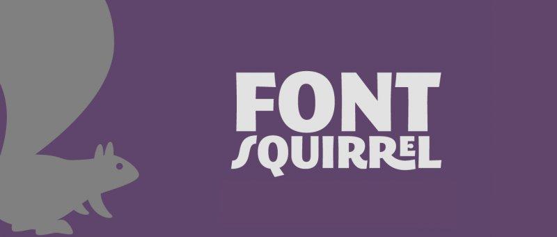 FontSquirrel - více než jen stránka s písmy