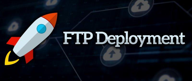 Nahrávání webu pomocí nástroje FTP Deployment