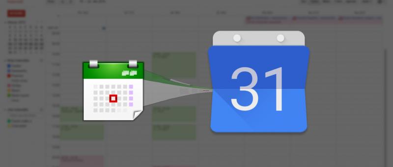 Import událostí do Google Kalendáře