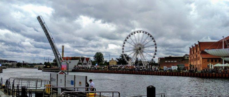 Město Gdaňsk - kousek od historického centra