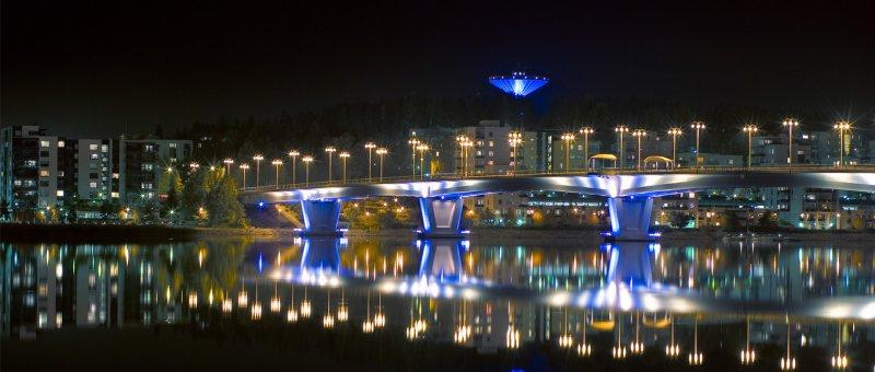 Hlavní most, ikona Jyväskyly