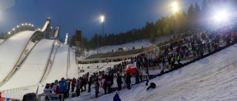 Salpausselkä stadium in Lahti