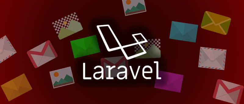 Inline obrázky v markdown emailech v Laravelu
