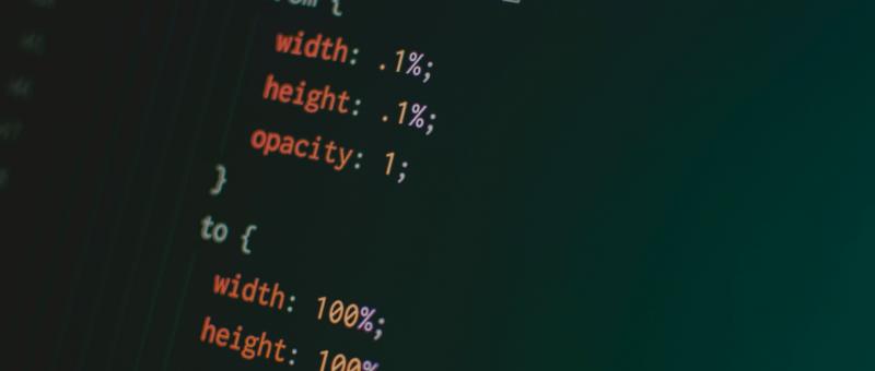 Kód CSS animace