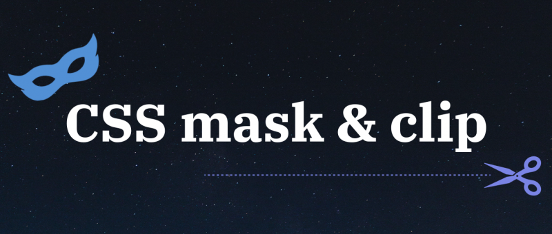 Mask a clipping v CSS