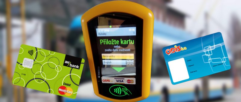 SMS jízdenky jsou out, plaťte v MHD kartou