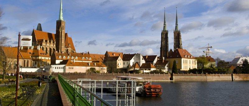 Ostrów Tumski - Wroclaw