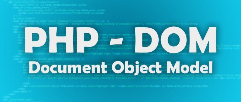 PHP DOM - Zpracování HTML