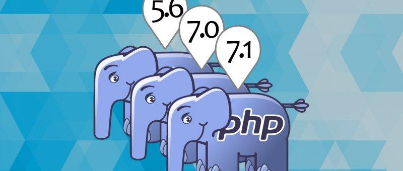 Více verzí PHP pod jedním Apache serverem