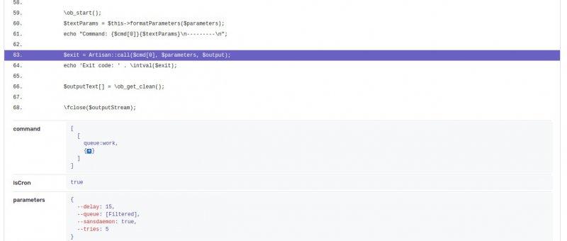 Report včetně ukázky kódu