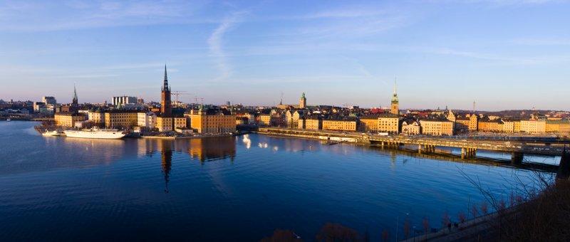 Gamla Stan - Stockholm panorama