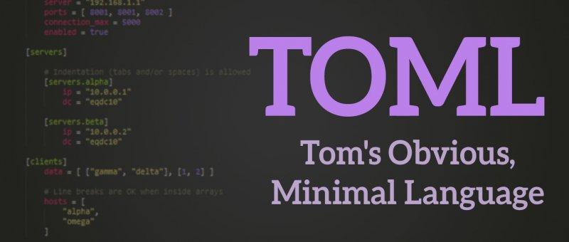 Konfigurační soubory a TOML