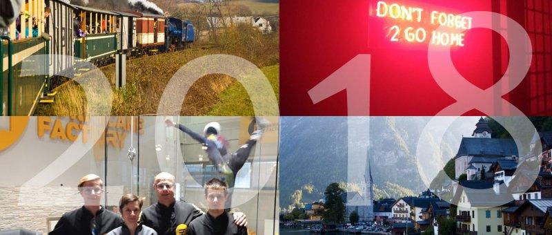 Osoblažská úzkokolejka, klub v Krakowě, Huricane factory a rakouský Hallstat