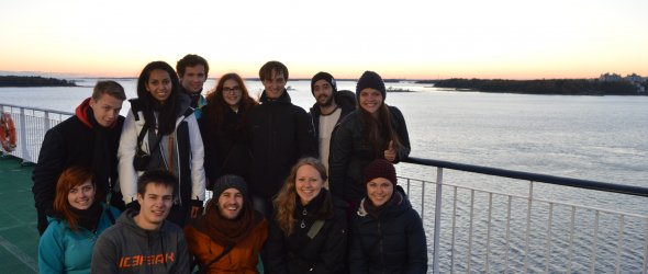 Ferry to Tallinn