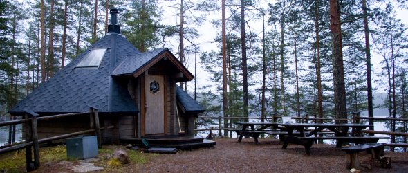 Finnish hut