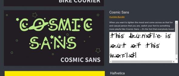 Apríl - nové fonty