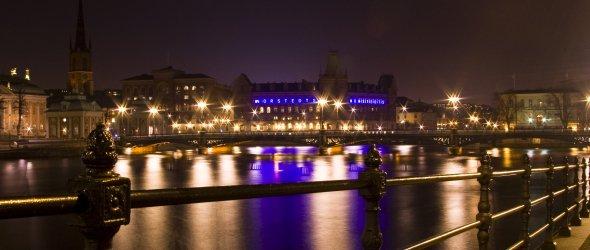 Night Stockholm