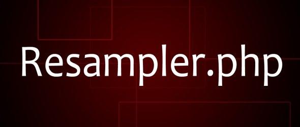 Resampler.php - rychlá editace obrázků