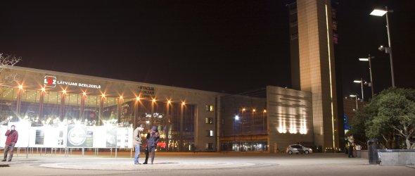 Riga - train station