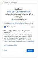 Přihlášení přes Google OAuth