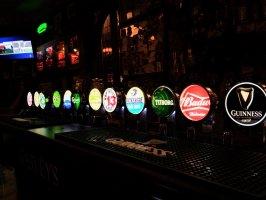 Menší výběr piv na večer