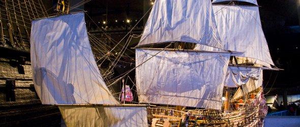 Model of Vasa warship