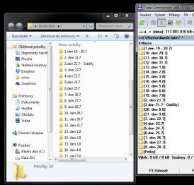 Windows vs Total Commander